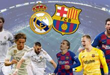 Real Madrid and Barcelona 220x150 - Pictures for 2021 The most beautiful pictures written on it in 2021