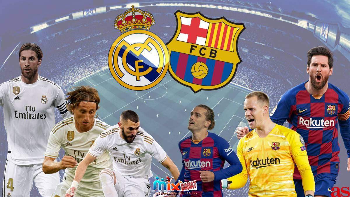 Real Madrid and Barcelona - Watch the Real Madrid and Barcelona match broadcast live today