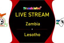 Zambia vs Lesotho Live Stream - How To Watch COSAFA Cup Live On TV