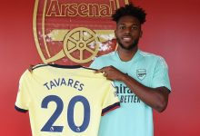 Arsenal unveil new signing Nuno Tavares at London Colney on July 10, 2021 in St Albans, England. (Photo by Stuart MacFarlane/Arsenal FC via Getty Images)