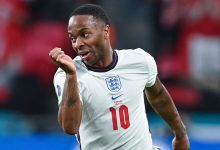 England's Raheem Sterling was superb for his country