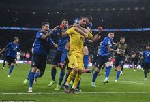 Italy were left celebrating as they won Euro 2020 following a dramatic penalty shootout win over England on Sunday night