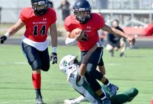 Scenes from Saturday's Durfee Dartmouth football game